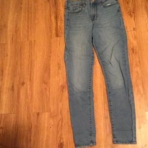 aeropostale light blue skinny jeans